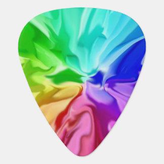 Flüssige Farbe Plektron