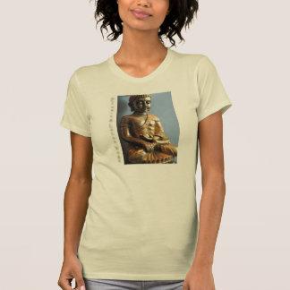 Flüssige Lotus-Yoga-Buddha-Statue T-Shirt
