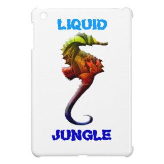Flüssiger Dschungel ipad Seepferdentwurf iPad Mini Hülle