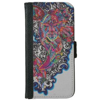 Flüssiger FriedensIphone 6/6s Geldbörsen-Kasten Geldbeutel Hülle Für Das iPhone 6/6s