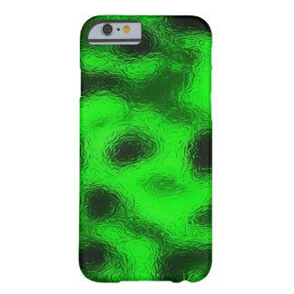 Flüssiger Smaragdgrün kundenspezifischer iPhone 6 Barely There iPhone 6 Hülle