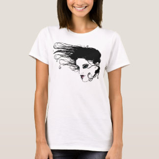 Flüssiges Haar T-Shirt