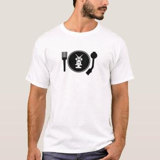 Flüssiges Himmel-Musik PLATTEN-LOGO T-Shirt
