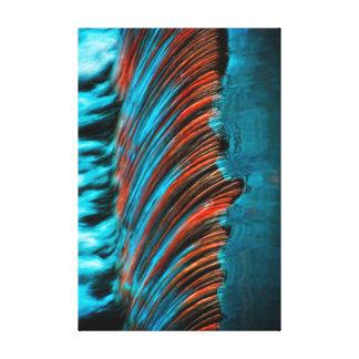 Flüssiges Wasser abstrakt Leinwanddrucke