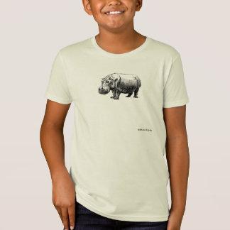 Flusspferd 3 T-Shirt