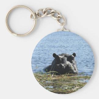 Flusspferd keychain schlüsselanhänger
