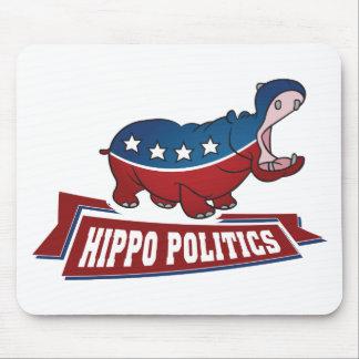 Flusspferd-Politik Mousepad