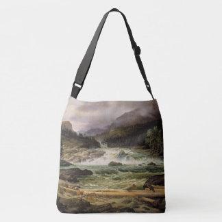 Flussrapids-MühlTaschen-Tasche Thomas Fearnley Tragetaschen Mit Langen Trägern