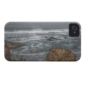 Flusssteine durch den Küsten-Galaxie-mutigen iPhone 4 Cover