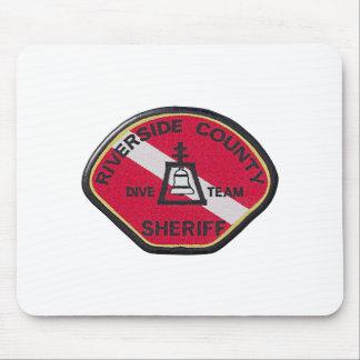 Flussufer-Sheriff-Tauchen-Team Mousepad