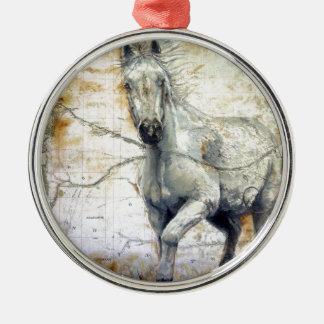 Flüstern über der Steppe Silbernes Ornament