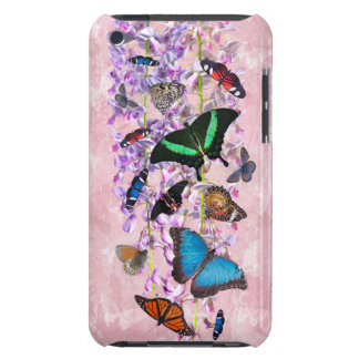 Flutterbies iPod Touch-Fall Case-Mate iPod Touch Case