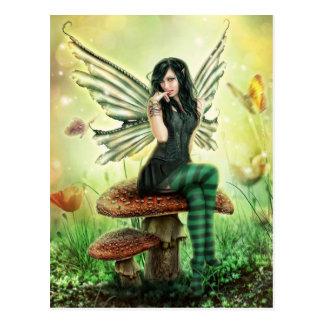 Fly agaric Fairy Postkarte