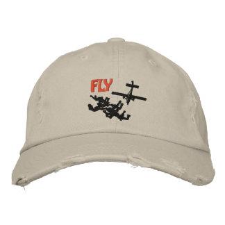 Fly Skydiving Besticktes Cap