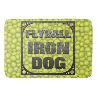 Flyball Eisen-Hund - 10 Jahre Wettbewerb! Badematte