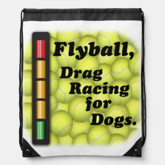 Flyball ist der Widerstand, der für Hunde läuft! Turnbeutel