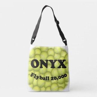 Flyball ONYX, 20.000 Punkte Tragetaschen Mit Langen Trägern