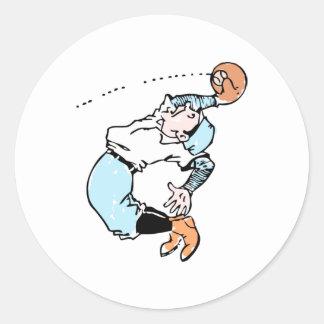 Flyball Runder Aufkleber