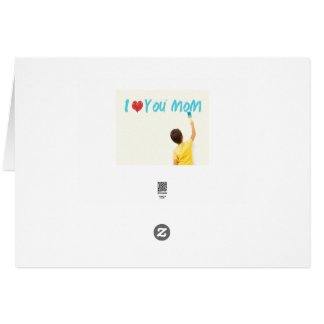 Flyer-Schablone der Mutter Tages Grußkarte
