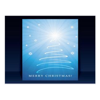 Flyer-und-Abdeckung Entwurf froher Weihnachten Postkarten
