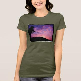 FlyFishing am Sonnenuntergang T-Shirt