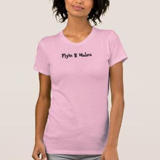 Flyin B der Behälter der Maultier-Frauen T-Shirt