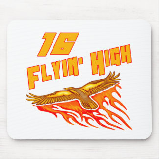 Flyin hohe 16. Geburtstags-Geschenke Mousepad