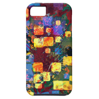 Flying Squares iPhone 5 Cover