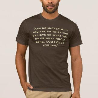 Flyleaf-T - Shirt - Braun
