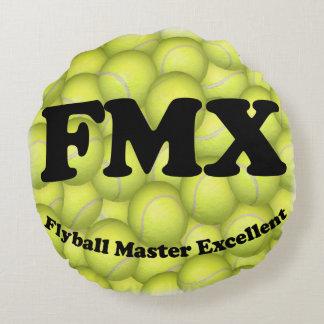 FMX, Flyball ausgezeichnete 10.000 Vorlagenpunkte Rundes Kissen