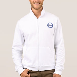 FOA-Logo amerikanische KleiderFleecejacke Jacke