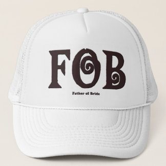 "Fob-""Vater von Braut"" Fernlastfahrer-Hut Truckerkappe"