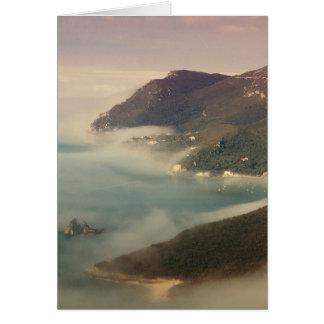 Foggy Ocean Karte