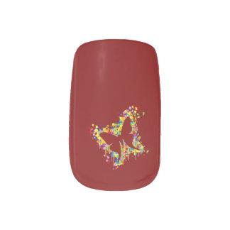 Fohlen mit Mamma-Spritzen Minx Nagelkunst