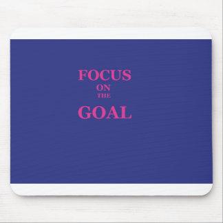 Fokus auf dem Ziel Mauspad