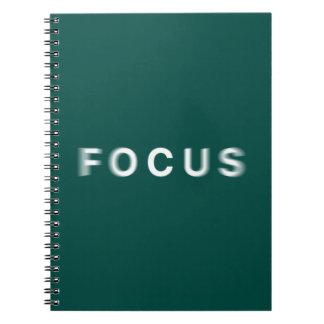 Fokus Notizblock