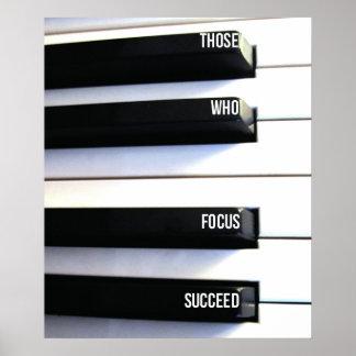 Fokus-Plakat Poster