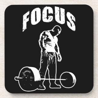 FOKUS - Workout motivierend Untersetzer