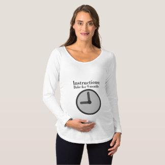 Folgen Sie dem Rezept Schwangerschafts T-Shirt