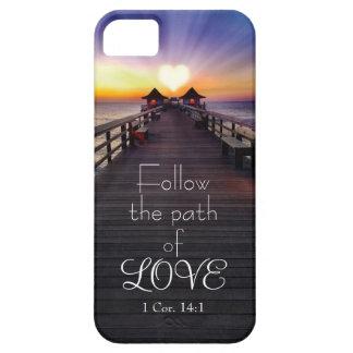 Folgen Sie dem Weg der Liebe mit iPhone 5 Etui