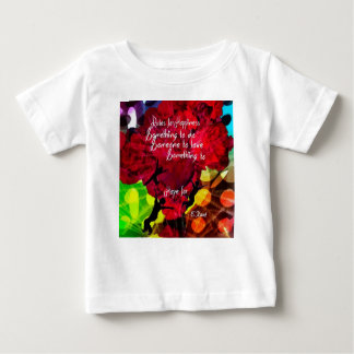 Folgen Sie diesem und seien Sie Ihr Leben Baby T-shirt