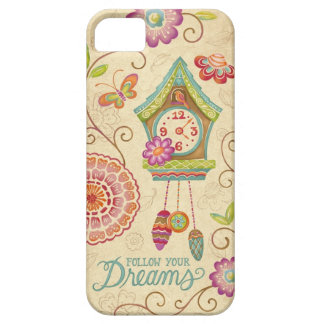 Folgen Sie Ihrem Traum-Kuckucksuhr-Telefon-Kasten Schutzhülle Fürs iPhone 5