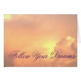 Folgen Sie Ihren Träumen Karte