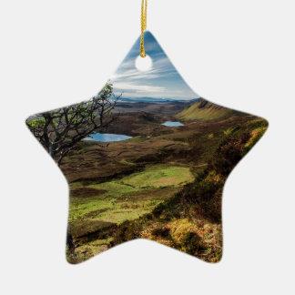 Folgen Sie Ihren Träumen! Keramik Stern-Ornament