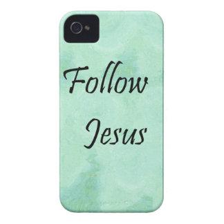 Folgen Sie Jesus Case-Mate iPhone 4 Hüllen