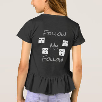 Folgen Sie mein folgen T-Shirt