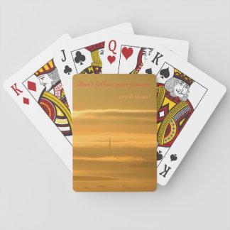 Folgen Sie nicht Ihren Träumen - FANGEN Sie sie! Spielkarten
