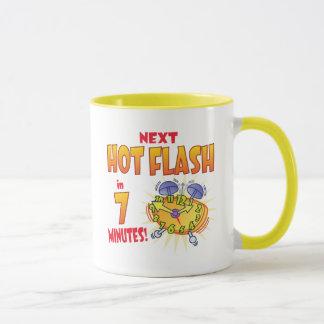 Folgende Hitzewallung Tasse