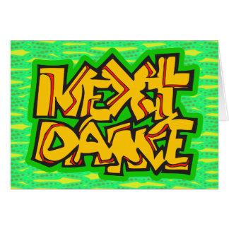 Folgender Tanz Karte