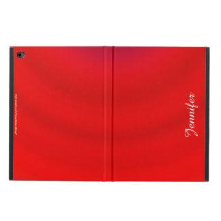 Foliofall iPad Airs 2, rote Steigung,